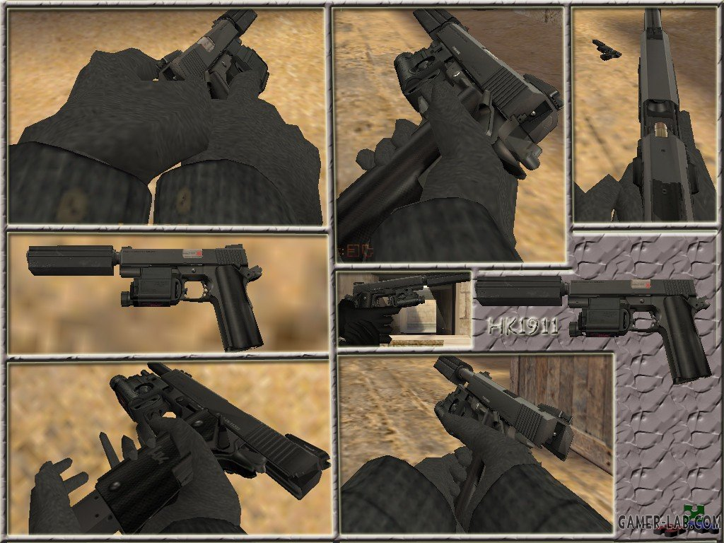 HK1911 on 4 anims for USP