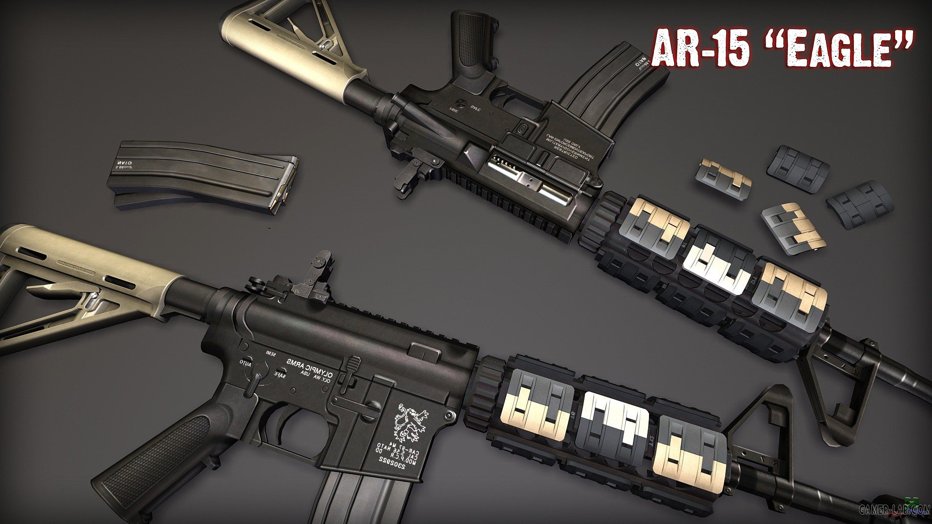 AR-15_Eagle_Animations_Pack