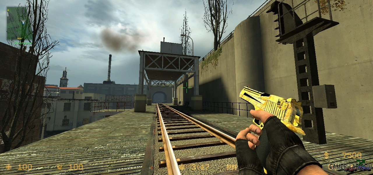 Worn Away Gold Deagle