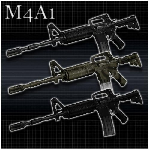 Splintor s M4A1 Pack