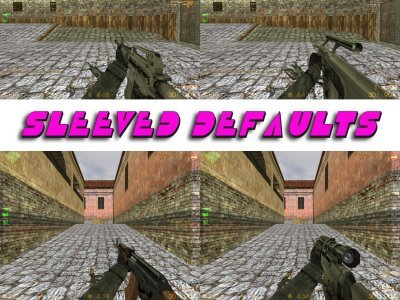 Re-Origined and Smoothed HD Defaults w/wout Sleeve