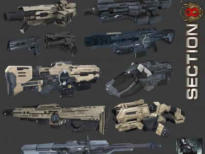 Section 8 Weapons Pack