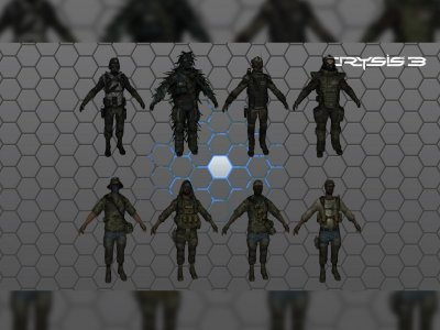 Crysis 3 CELL & Rebels Pack