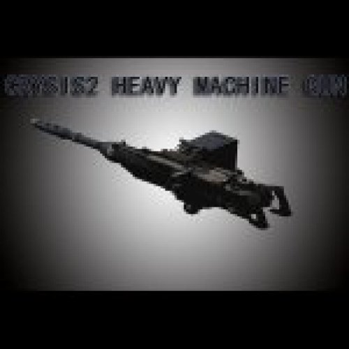 Crysis2 Heavy Machine Gun