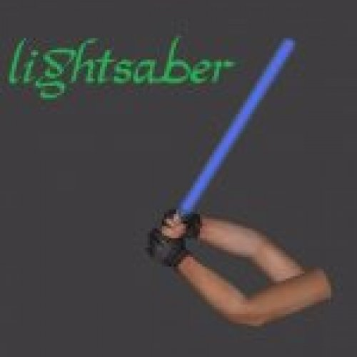 Lightsaber (custom animation)