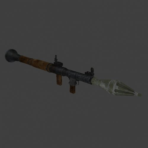 RPG-7 with worldmodel