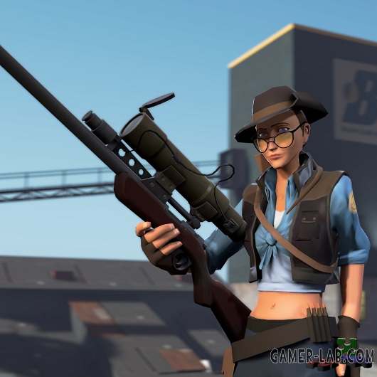 The Female Sniper