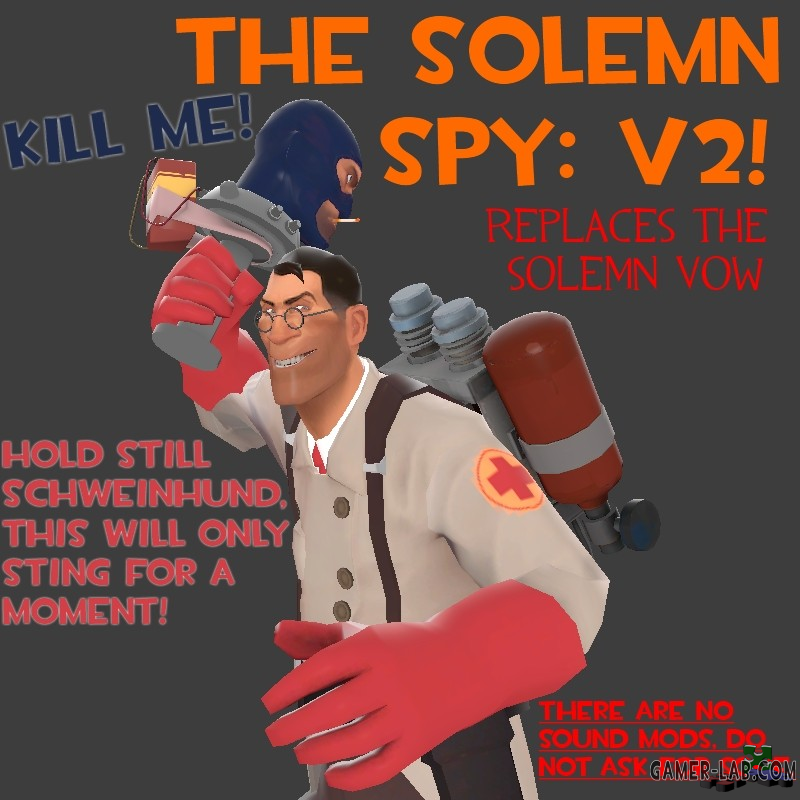 The Solemn Spy V2
