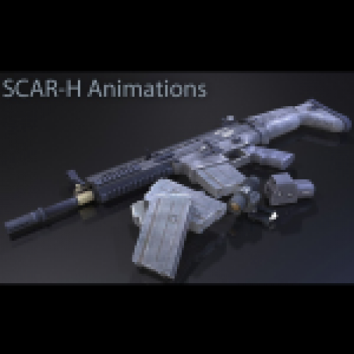 SCAR-H Animations