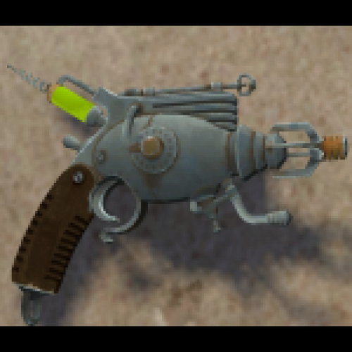 The Mann's Plasma Pistol