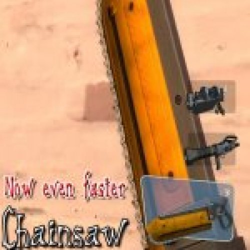 Chainsaw animated (faster)