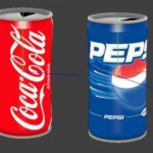 Coke & Pepsi Energy Drinks