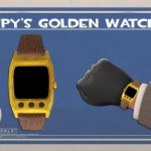 HD Spy Watch Leather