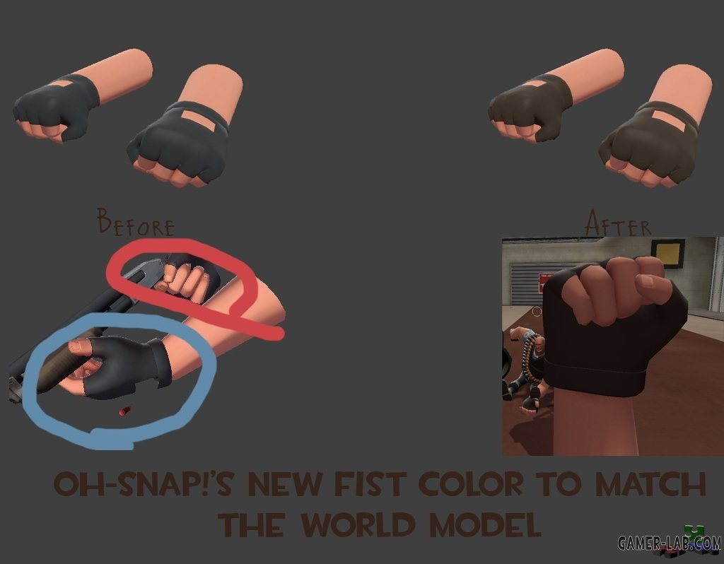 Fixed View Model Heavy Hands