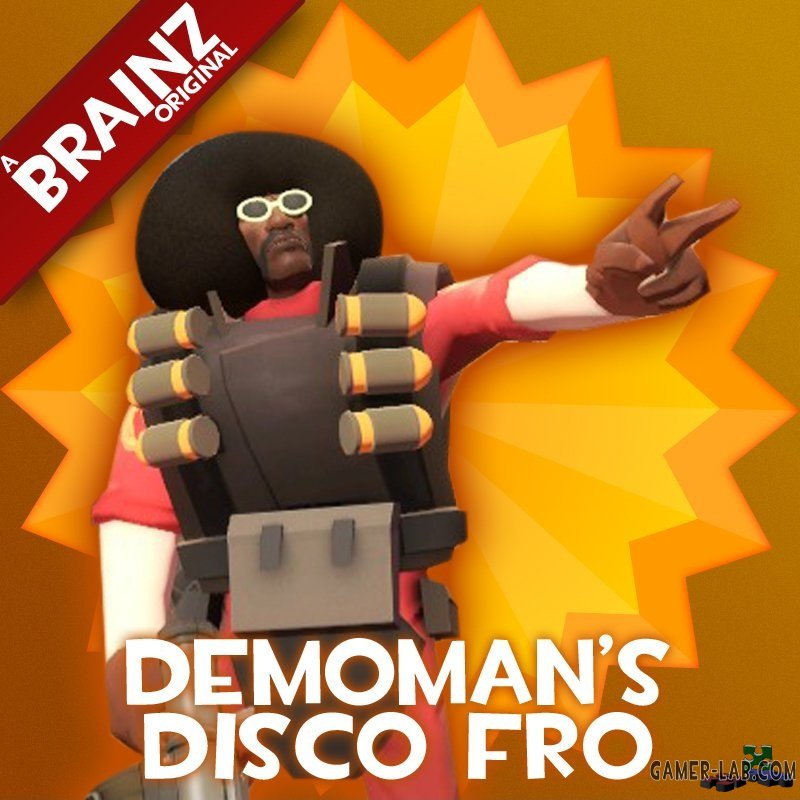 Demoman's Disco Fro