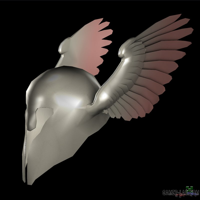 Heavy Winged Helm