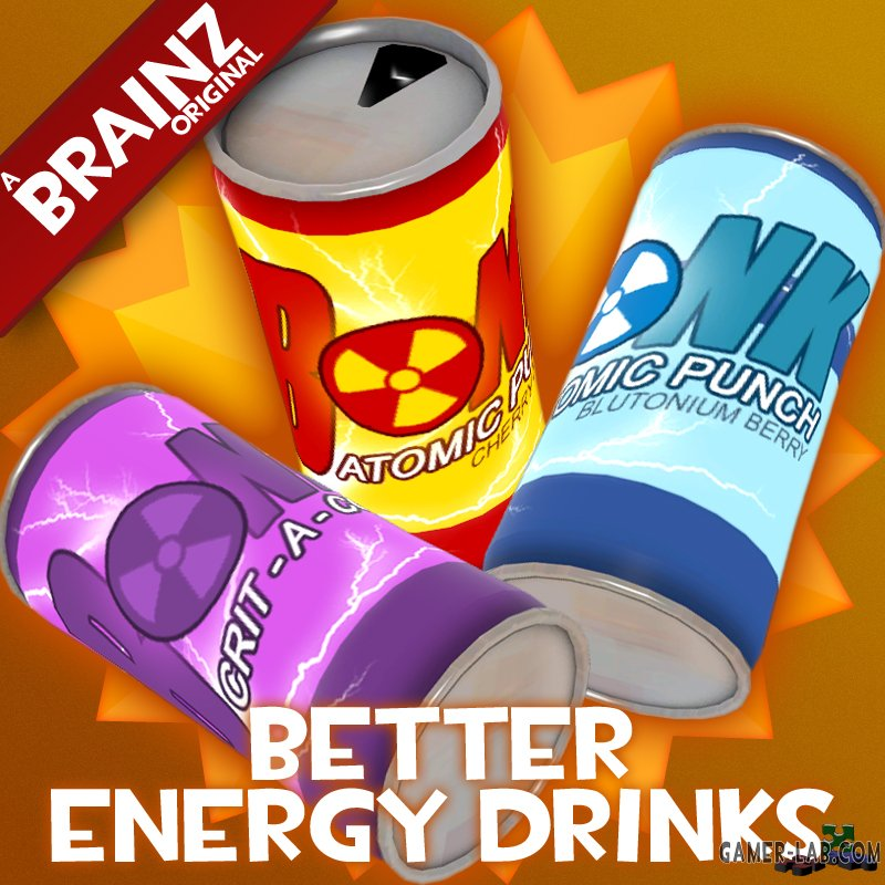Better Energy Drinks (updated)