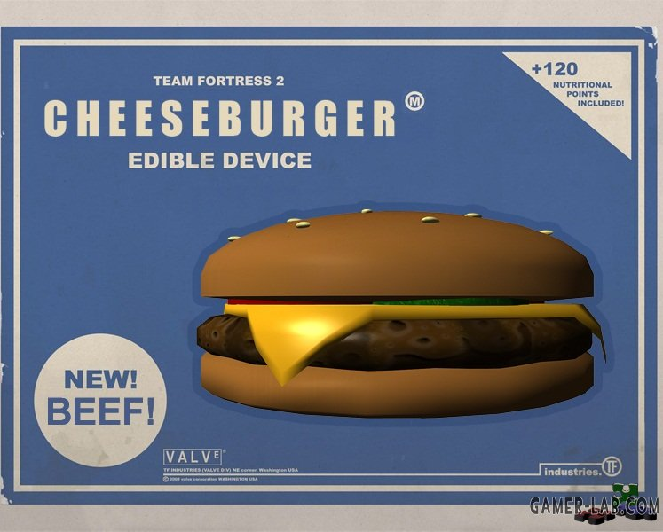 Cheeseburger Edible Device