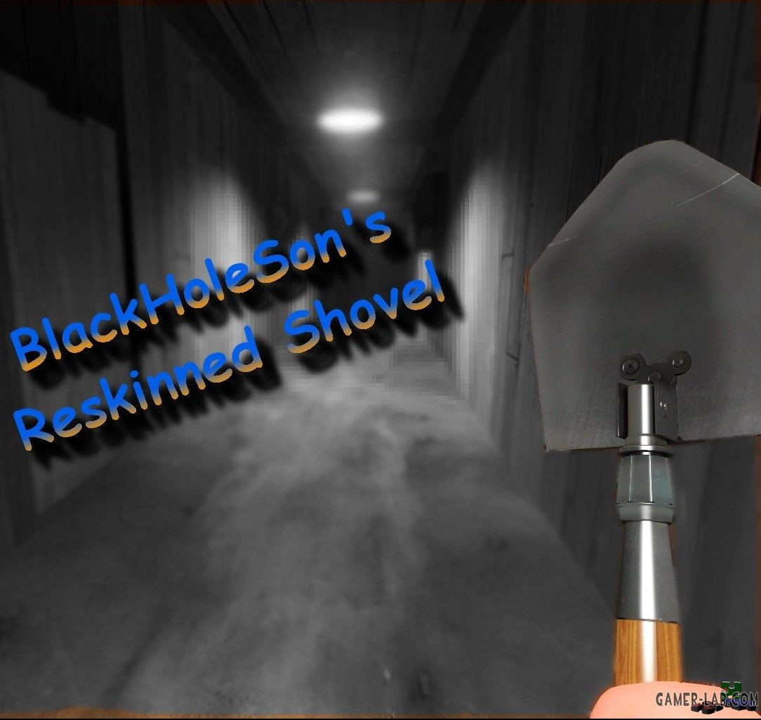 BlackHoleSons Reskinned Shovel