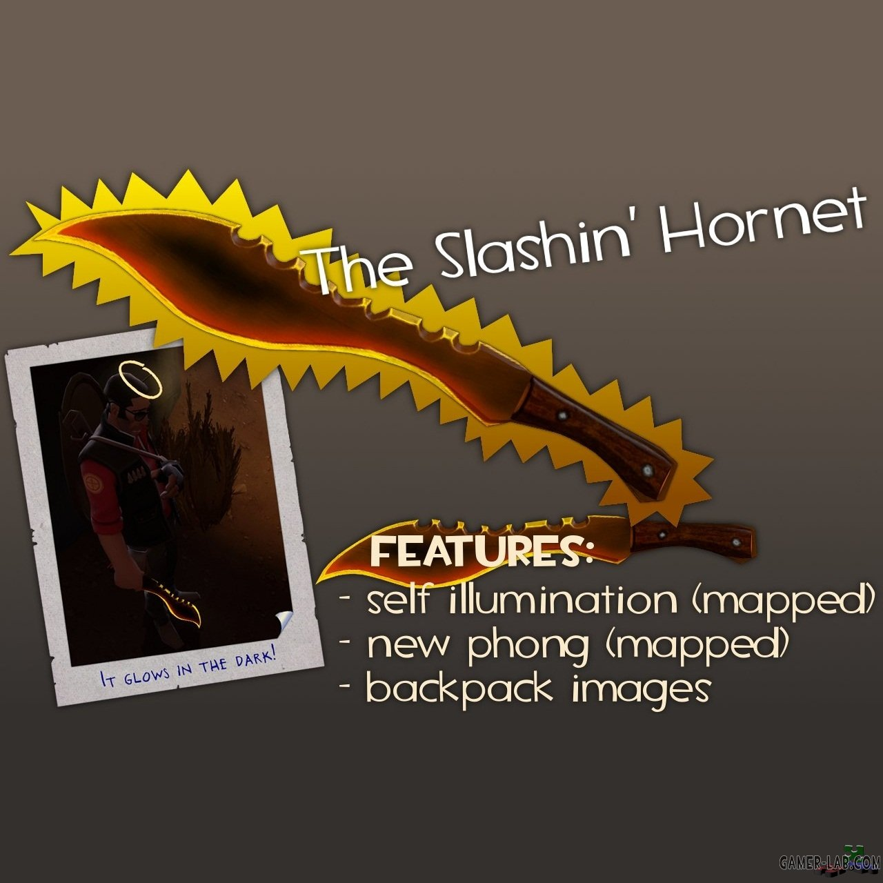 The Slashin' Hornet (glow fx)