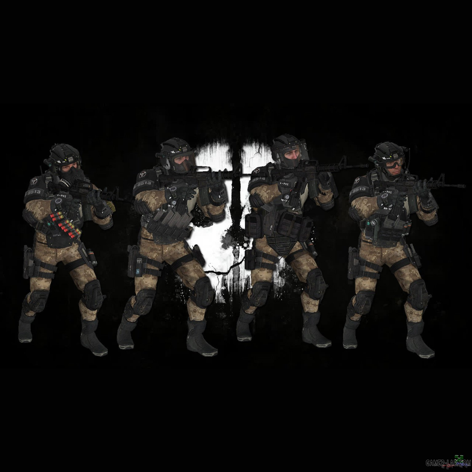 Cod Ghosts Elite Pmc Desert Packs Counter Strike Source Player Models Source Warehouse Hl2