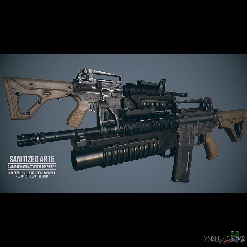 SANITIZED AR15