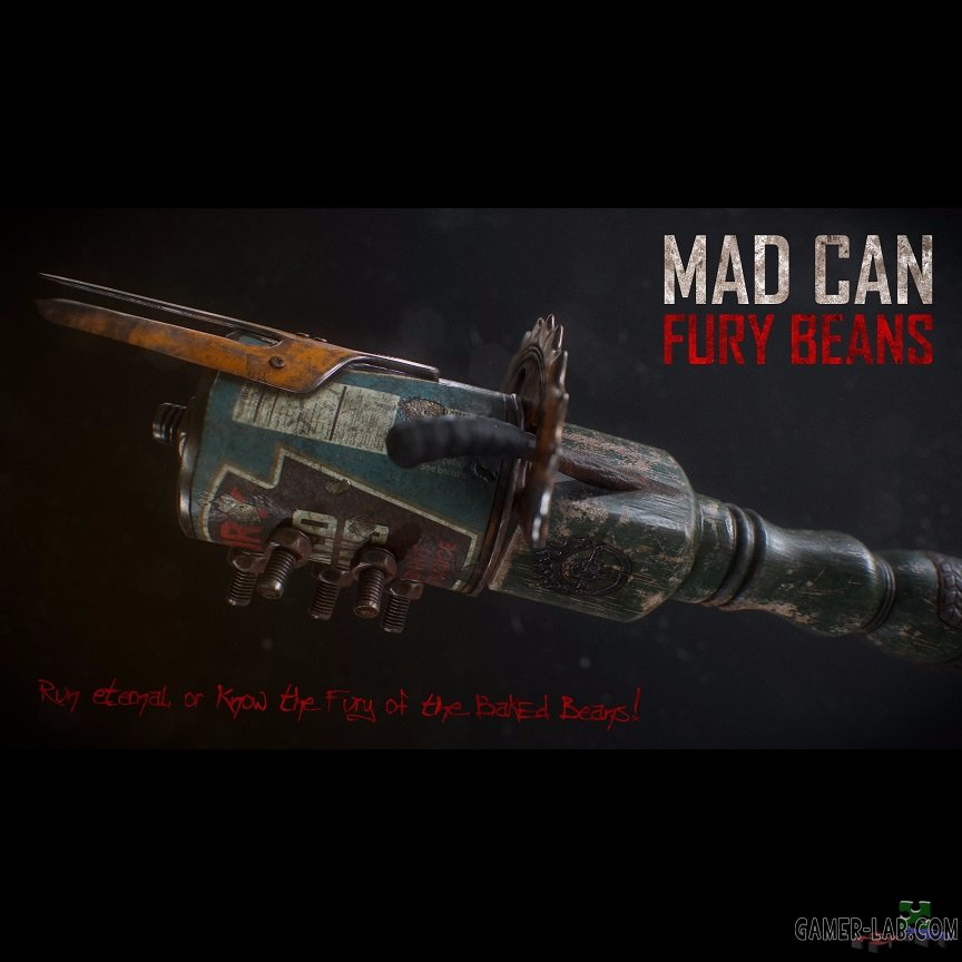 Mad Can: Fury Beans