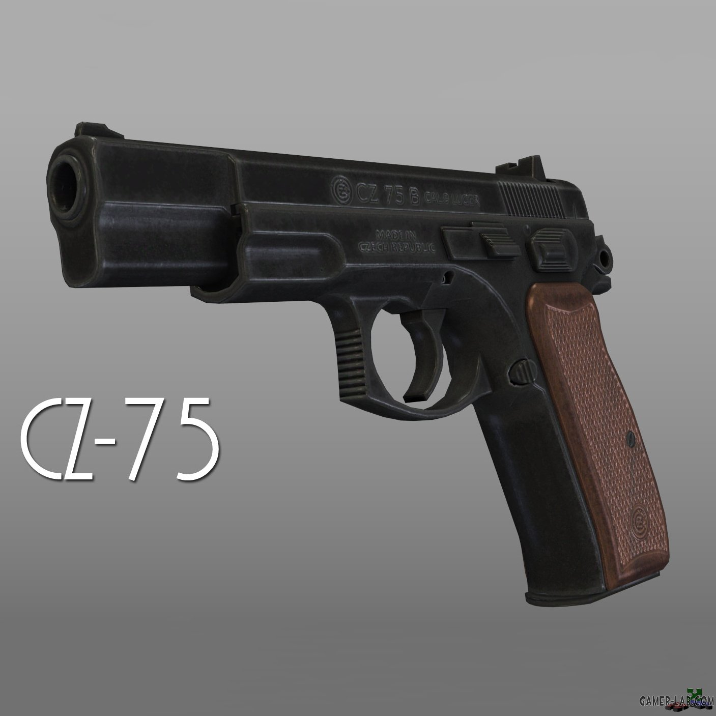 CZ-75 - Pistol - Half-Life 2 - Weapon models - Source