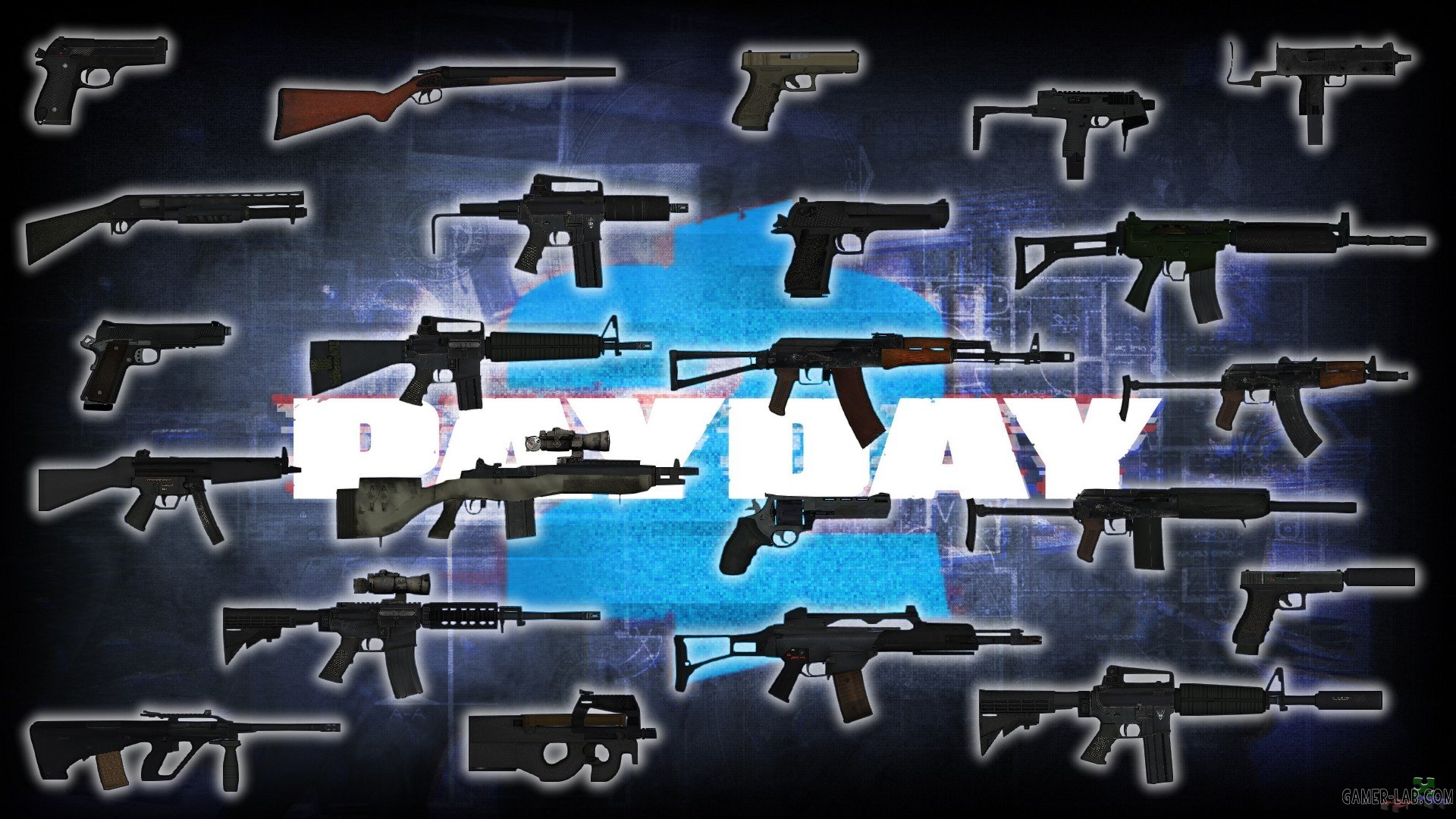 Payday 2 Weapons Pack