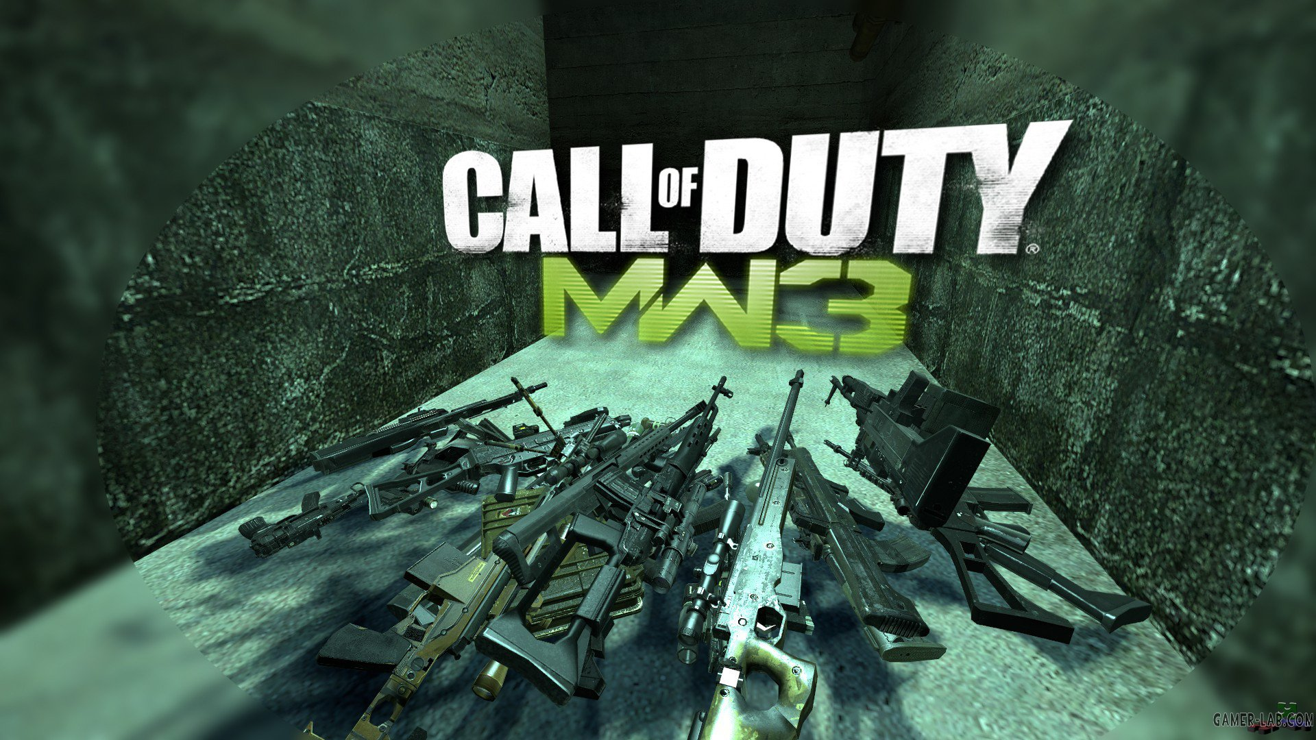 CoD MW3 Weapons Pack