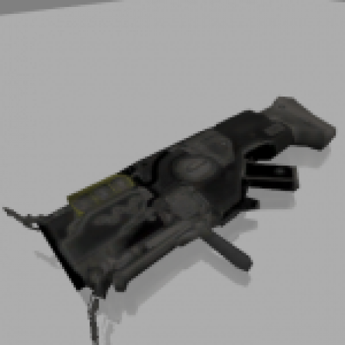 Plasmagun from DOOM 3