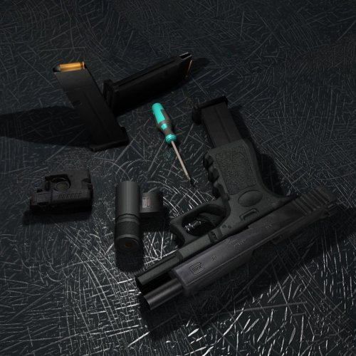 Glock 19+ 3 anims+ 71 differently skin+ 2 version