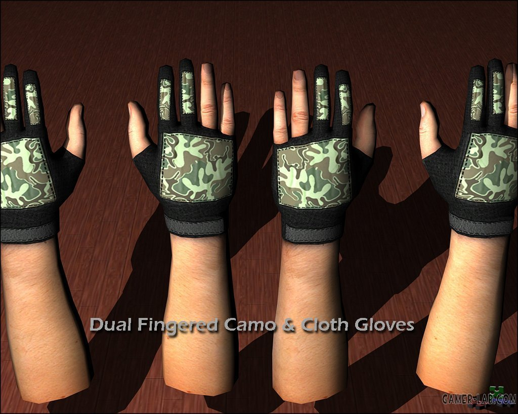Camo_and_Cloth_Gloves