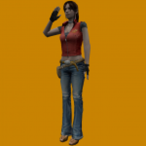 RE TDC Claire Redfield