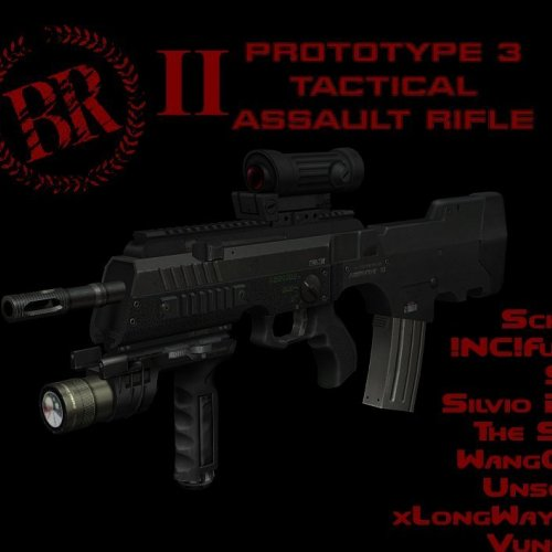 Prototype 3 Tactical Assault Rifle