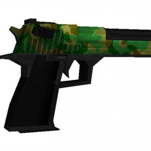 Two-tone Jungle Camo Deagle