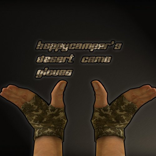Happy_Camperґs_Desert_Camo_Gloves