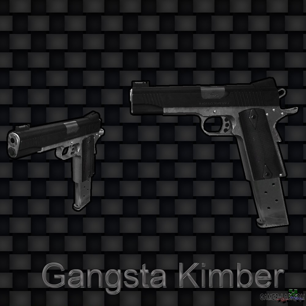 Two-Tone Gangster Kimber