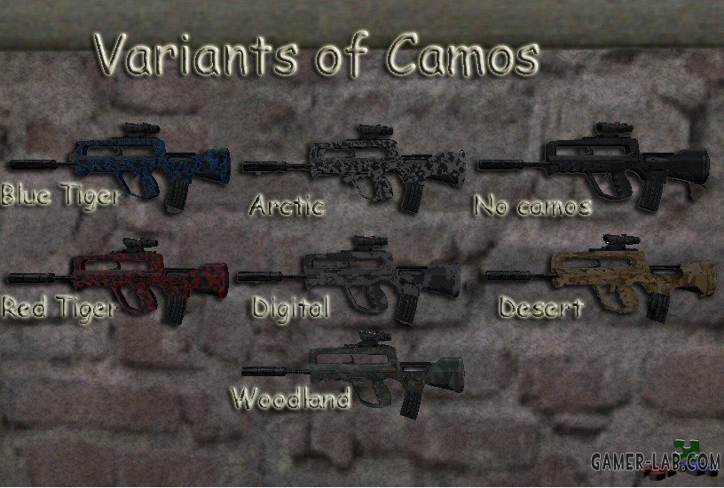 FAMAS G2 on DaEllum67 anims