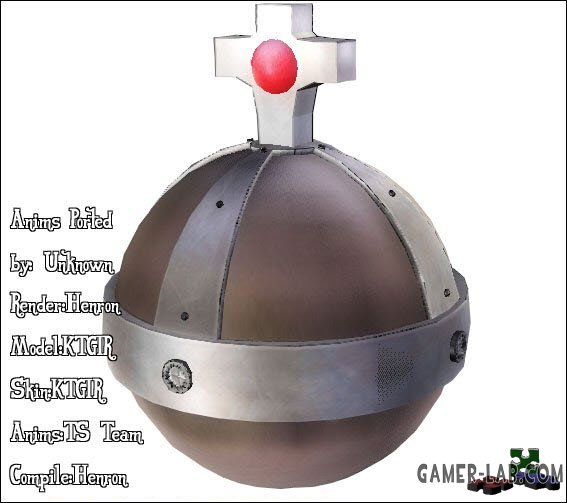 Holy Hand Grenade WModel and Hallelujah Sound!