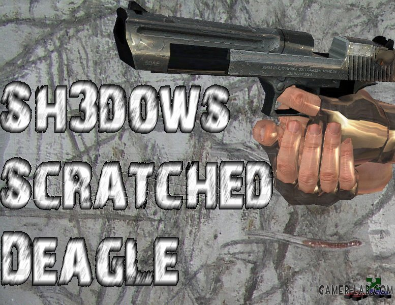 Scratched Desert Eagle