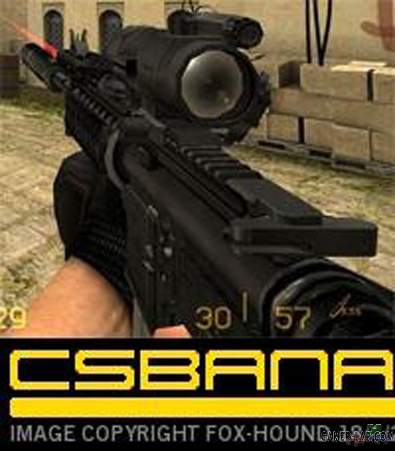 mega_m4a1_w_lam_using_the_carry_handle