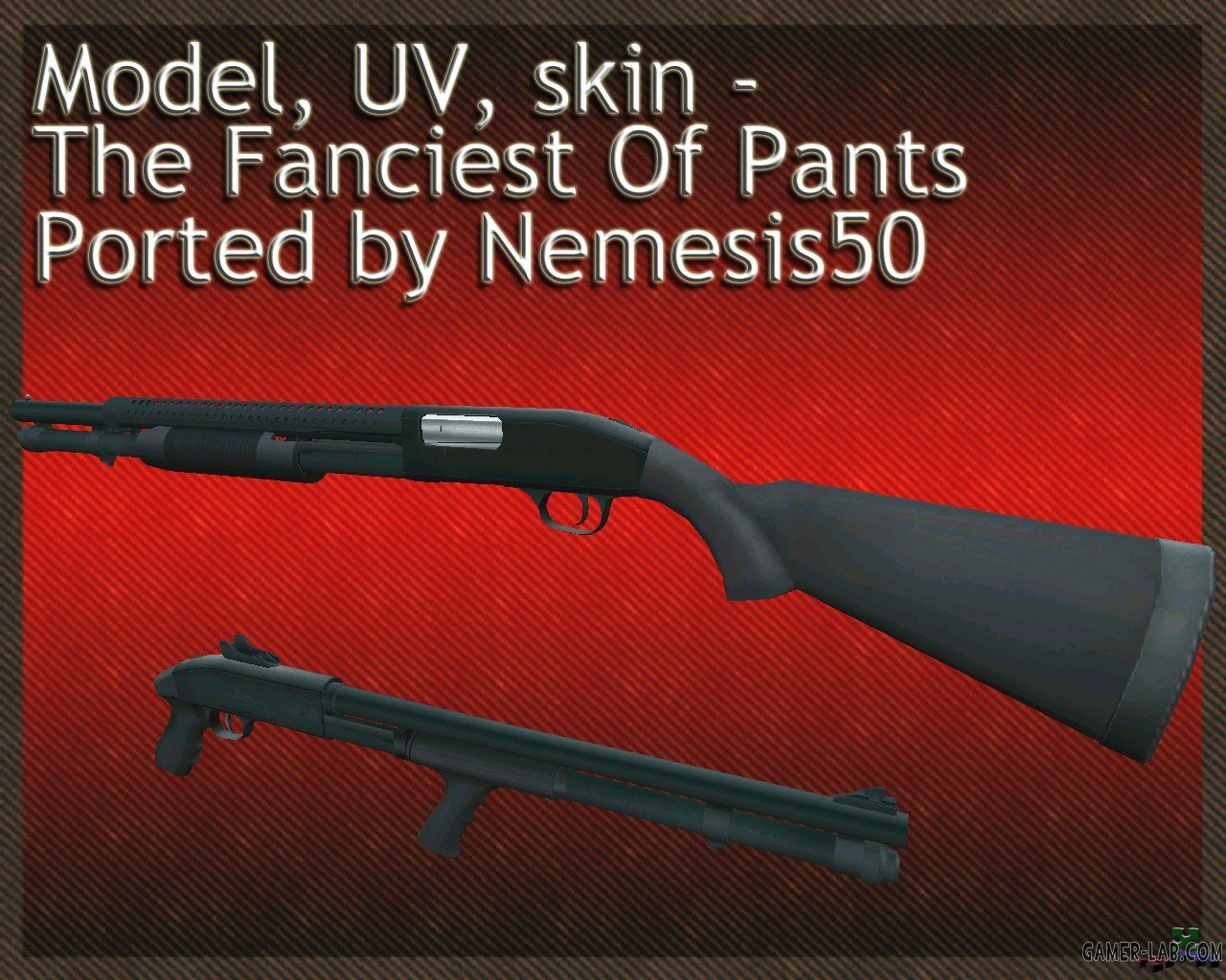 The Fanciest Of Pants Mossberg M590A1