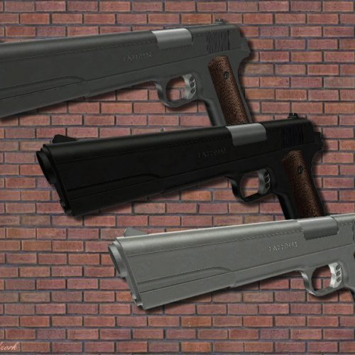 Colt 1911 + Quads Animations