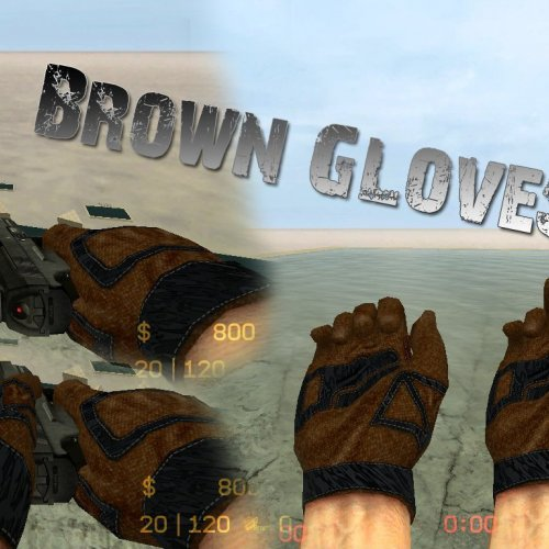 G-FLOW_s_Brown_Gloves