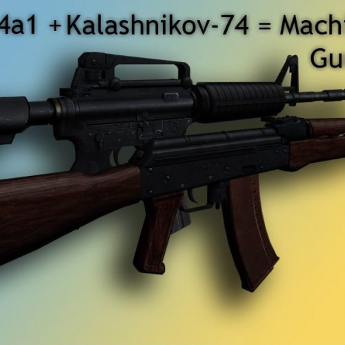 kalashinov m4 machinegun replacement