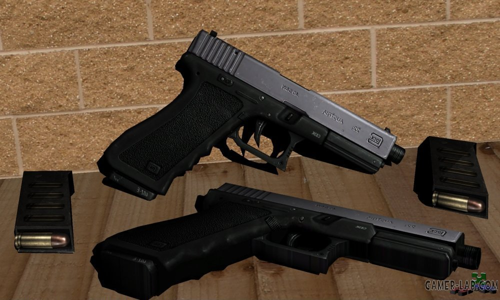 Two-tone Metallic Glock 2 orgins