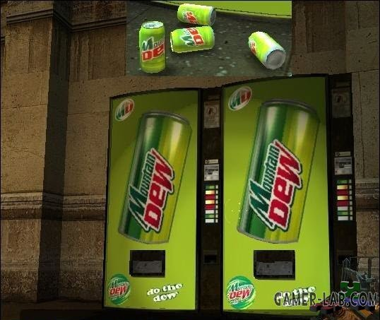 Mountain Dew Vending machine
