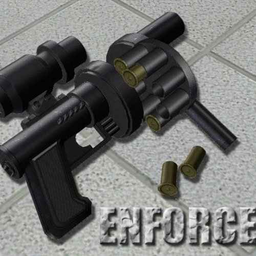 Enforcer - Revolver type shotgun