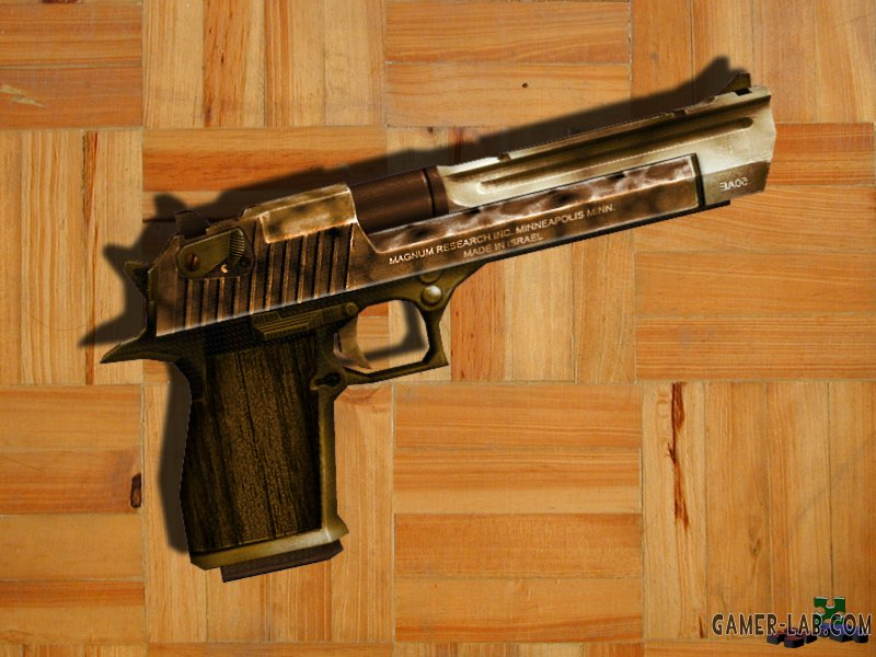 Burned Sand Deagle by WildWolf